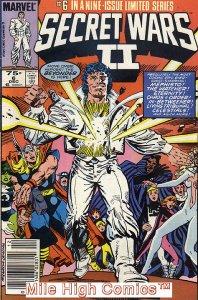 SECRET WARS II (1985 Series) #6 NEWSSTAND Very Good Comics Book