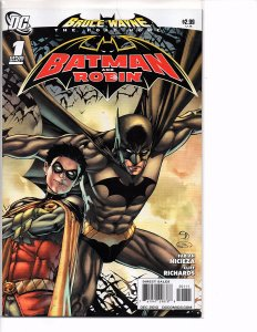 DC Comics Bruce Wayne The Road Home Batman and Robin #1