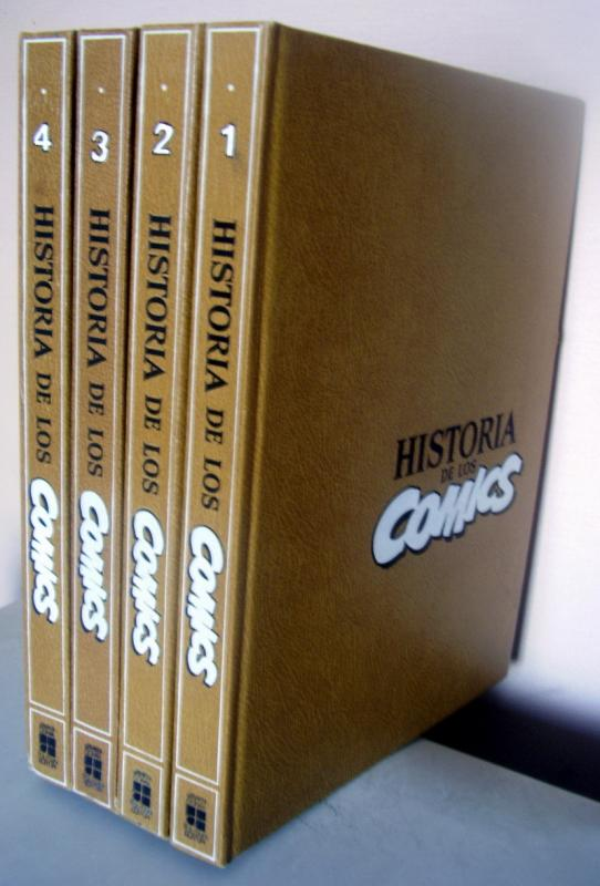 ENCICLOPEDIA de los COMICS Toutain encyclopedia of comics in Spanish javier coma
