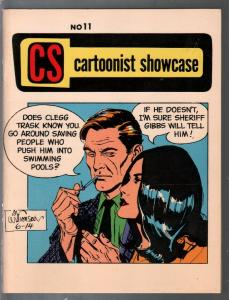 Cartoonist Showcase #11 1971-Tarzan by Russ Manning-Secret Agent Carrigan-VF