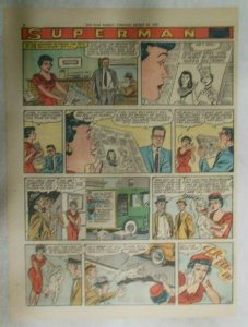 bvSuperman Sunday Page #1035 by Wayne Boring from 8/30/1959 Tabloid Page Size