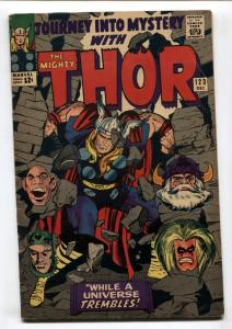 Journey Into Mystery #123-Thor-Marvel-Silver-Age Comic book FN-