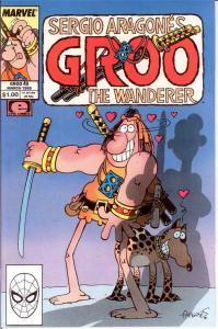 GROO 49 VF-NM Mar. 1989 SERGIO ARAGONES COMICS BOOK