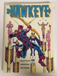 Hawkeye TPB NM Near Mint Limited Series Marvel Comics Mark Gruenwald
