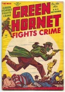 Green Hornet #38 1948- Jack Kirby Kid Adonis- Golden Age
