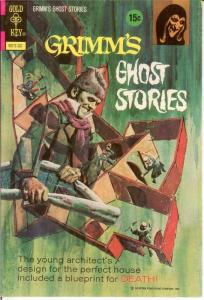 GRIMMS GHOST STORIES 8 VF WIILLIAMSON 1973 COMICS BOOK