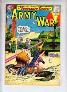 Our Army at War # 149 strict VF/NM High-Grade Sgt. Rock and Easy Co. Nazis