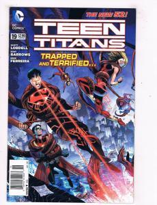 Teen Titans #19 FN/VF DC Comics Comic Book Gatefold Lobdell 2013 DE45