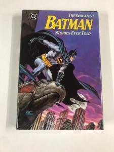 Batman The Greats Stories Ever Told 1st Print Tpb Hc Hardcover Nm Near Mint