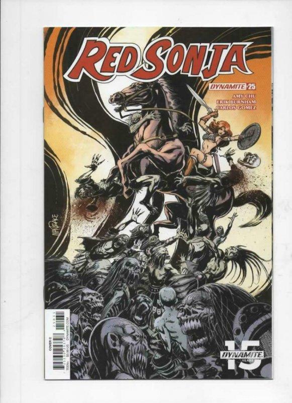 RED SONJA #25 C, NM-, She-Devil, Vol 4, Mandrake, 2017 2018, more RS in store