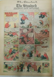 (53) Gasoline Alley Sunday Pages by Frank King from 1932 Size: 11 x 15 inches