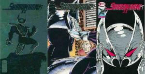SHADOWHAWK II (1993 IM) 1-3  COMPLETE 2ND SERIES!