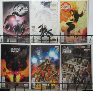 Years of Future Past (Marvel 2015) #1-5 The X-Men Face More Sentinel Occupations