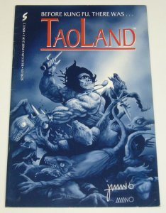 TaoLand #2 FN; SIGNED by Jeff Amano - Sumitek - martial arts comic- tao land