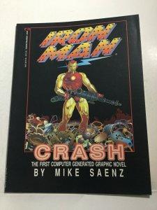 Iron Man Crash Nm Near Mint Sc Softcover Marvel Graphic Novel