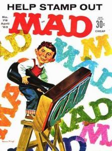 Mad (1952 series) #78, Fine- (Stock photo)