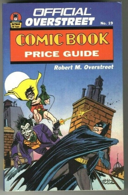 The Comic Book Price Guide Overstreet No. 19 Softcover 1988 VG-FN