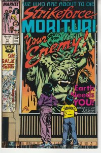 Strikeforce Morituri # 11  We Who Are About To Die !
