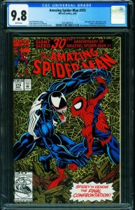 AMAZING SPIDER-MAN #375-CGC 9.8 Marvel-VENOM ISSUE 2012367010
