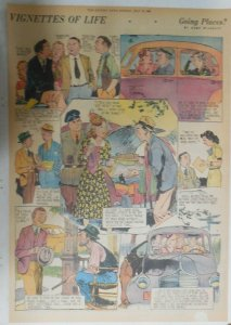 Vignettes Of Life by Kemp Starrett Going Places ! 7/13/1941 Size: 15 x 22 inch