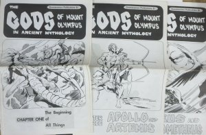 GODS OF MOUNT OLYMPUS #1-3 COMPLETE! Joe Staton & Johnny Achziger Newspaper