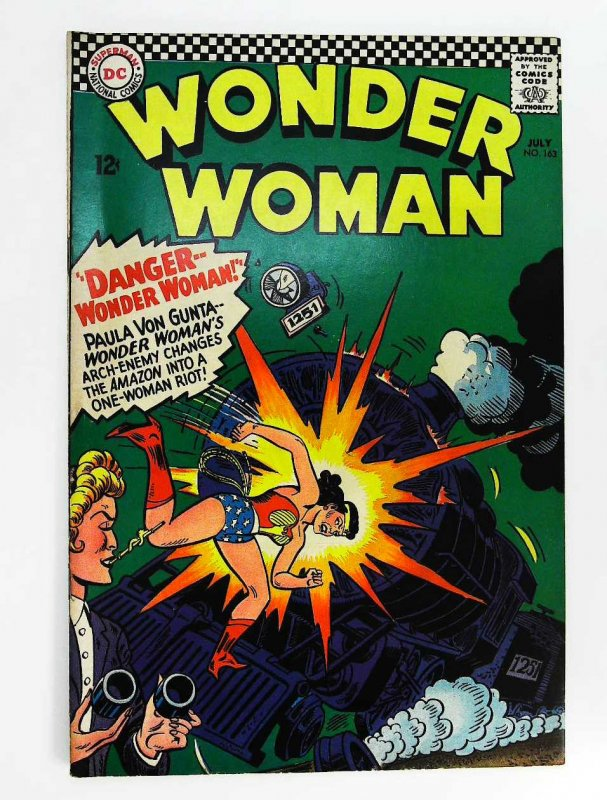 Wonder Woman (1942 series) #163, Fine (Actual scan)