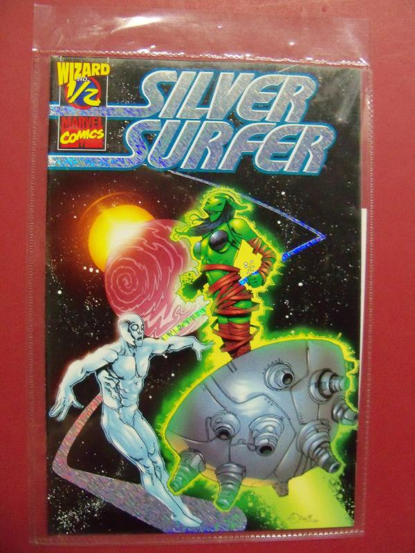 SILVER SURFER #1/2,  CERTIFICATE OF AUTHENTICITY  (VF/NM 9.0 OR BETTER)  MARVEL