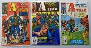 A-Team Set:#1-3, Average 8.0/VF (1984)