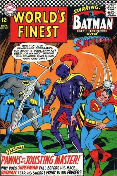 World's Finest Comics #162, VG (Stock photo)