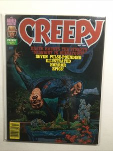 Creepy 122 Very Fine- Vf- 7.5 Oct 1980 Warren Magazine