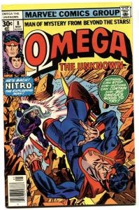 OMEGA THE UNKNOWN #8-1st FOOLKILLER-comic book VF