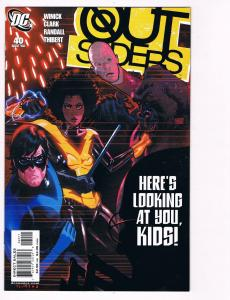 Outsiders # 40 DC Comic Books Awesome Issue Modern Age NIghtwing Metamorpho! S24