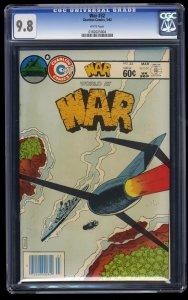 War #32 CGC NM/M 9.8 White