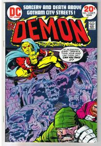 DEMON #13, VF, Jack Kirby, 4th World, Etrigan, 1972, more in store