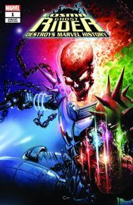 Cosmic Ghost Rider Destroys Marvel History #1 Clayton Crain Variant