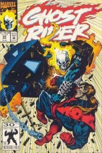 Ghost Rider (1990 series) #24, VF+ (Stock photo)