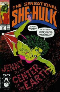 Sensational She-Hulk, The #32 VF/NM; Marvel   save on shipping - details inside