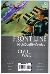 CIVIL WAR : FRONT LINE #5, NM-, Jenkins, Lieber, Bachs, 2006, more in store