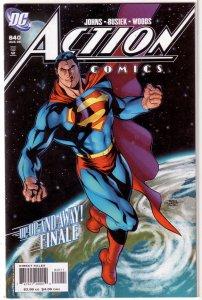 Action Comics   vol. 1   #840 GD (Up, Up, and Away! 8)