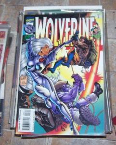 Wolverine #96 (Dec 1995, Marvel) storm xmen cannonball cyber