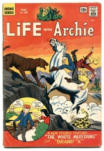 Life With Archie #40 1965-Betty & Veronica- rattlesnake cover VG