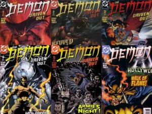 DEMON DRIVEN OUT (2003) 1-6  complete!