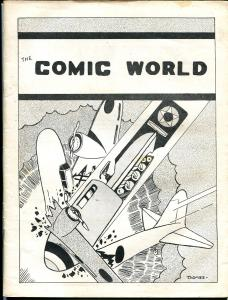 Comic World #9 1969-Robert Jennings-Blue Tracer-Rick Norwood-pioneer fanzine-VG