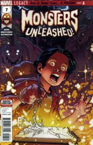 Monsters Unleashed (3rd Series) #7 VF/NM; Marvel   save on shipping - details in