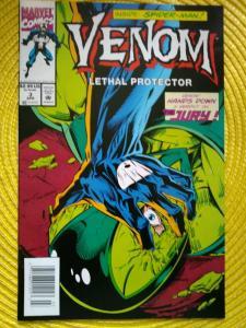 Venom: Lethal Protector #3 (1993) Spider-Man (Marvel) unread newsstand