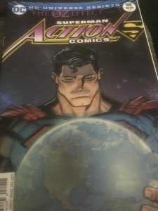 DC Superman Action Comics #989 3D OZ Effect Mint