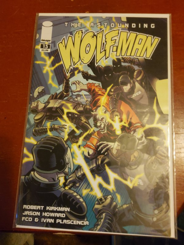 The Astounding Wolf-Man #15 (2009)
