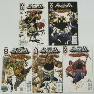 Punisher Presents Barracuda #1-5 FN/VF/NM complete series GARTH ENNIS marvel max