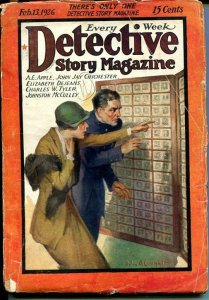 DETECTIVE STORY MAGAZINE-FEB 13 1926-MCCULLEY-CHICHESTER-EDGAR-good minus G-