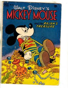 Four Color # 231 FN Walt Disney's Mickey Mouse Dell Golden Age Comic Book JL18